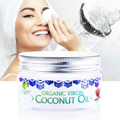 Organic Coconut Oil Makeup Remover