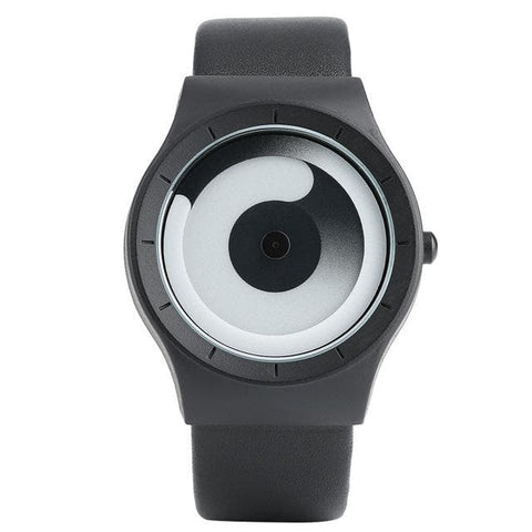 Minimalist Spiral Turntable Watch