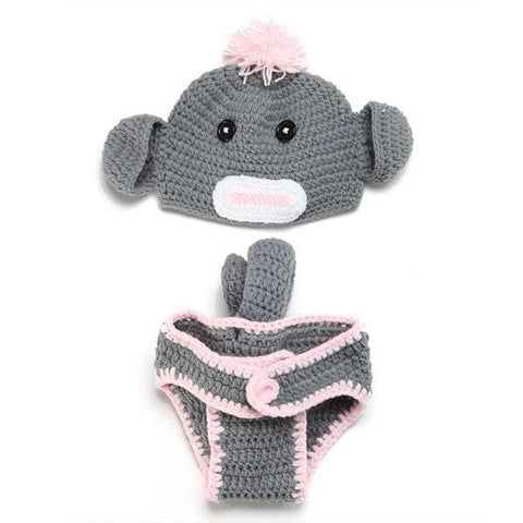 Cheeky Monkey Knitwear Baby Outfit