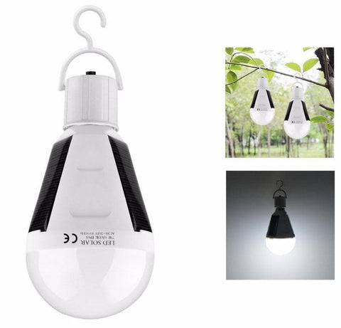 Portable Solar Powered Bulb