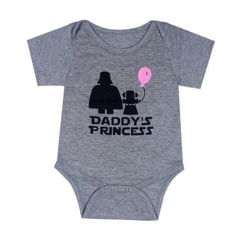 Daddy's Princess Baby Romper
