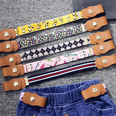 Kids Buckle-Free Elastic Belt