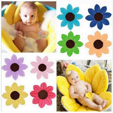 Newborn Baby Bathtub Flower