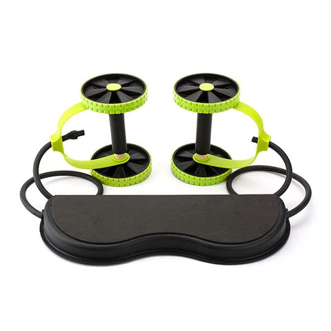 Dual Roller Power Abs Trainer