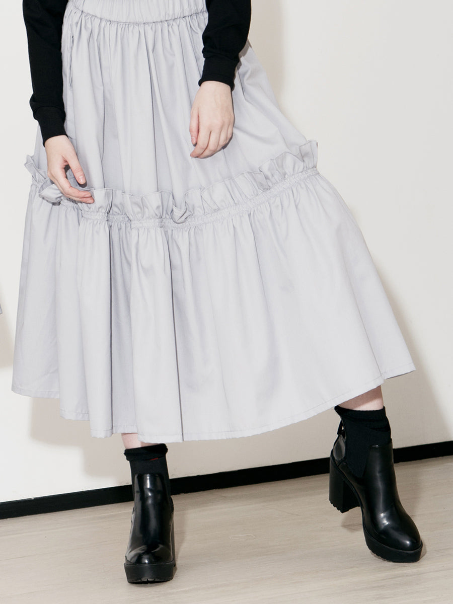 Bomb Gathered Skirt