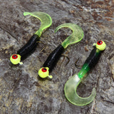17pcs Fishing Soft Lure Set