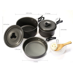 Outdoor Aluminium Alloy Cookware
