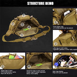 Multi-function waterproof Molle Bag
