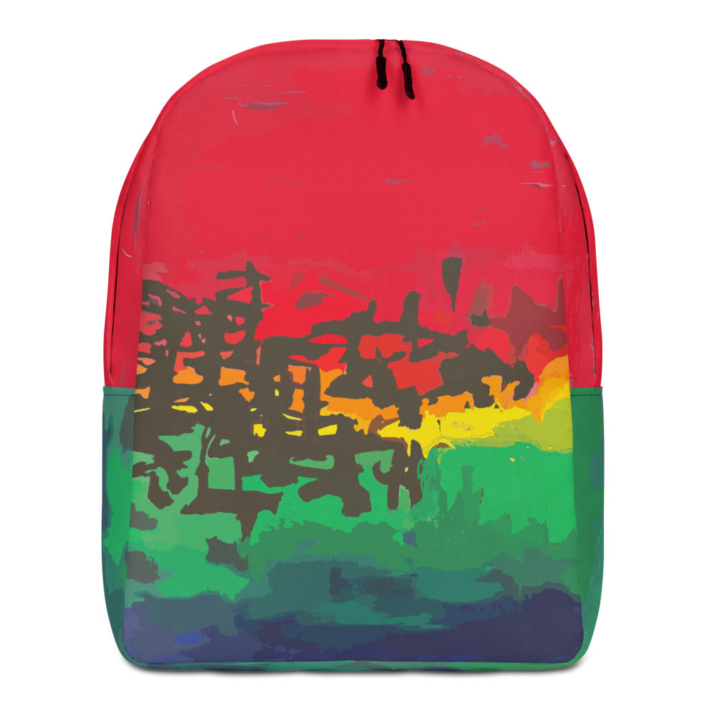Calligraphic Motion Backpack