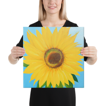 Sun Canvas Print (16x16in)