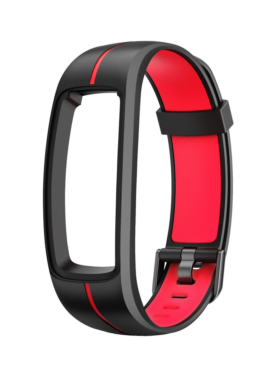 Stride - Interchangeable Smartwatch Band - Black / Red band for CAC-111-M07