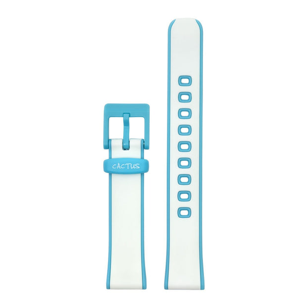 Summer Splash Band - White / Blue Band for CAC-78-M11 Bands Cactus Watches
