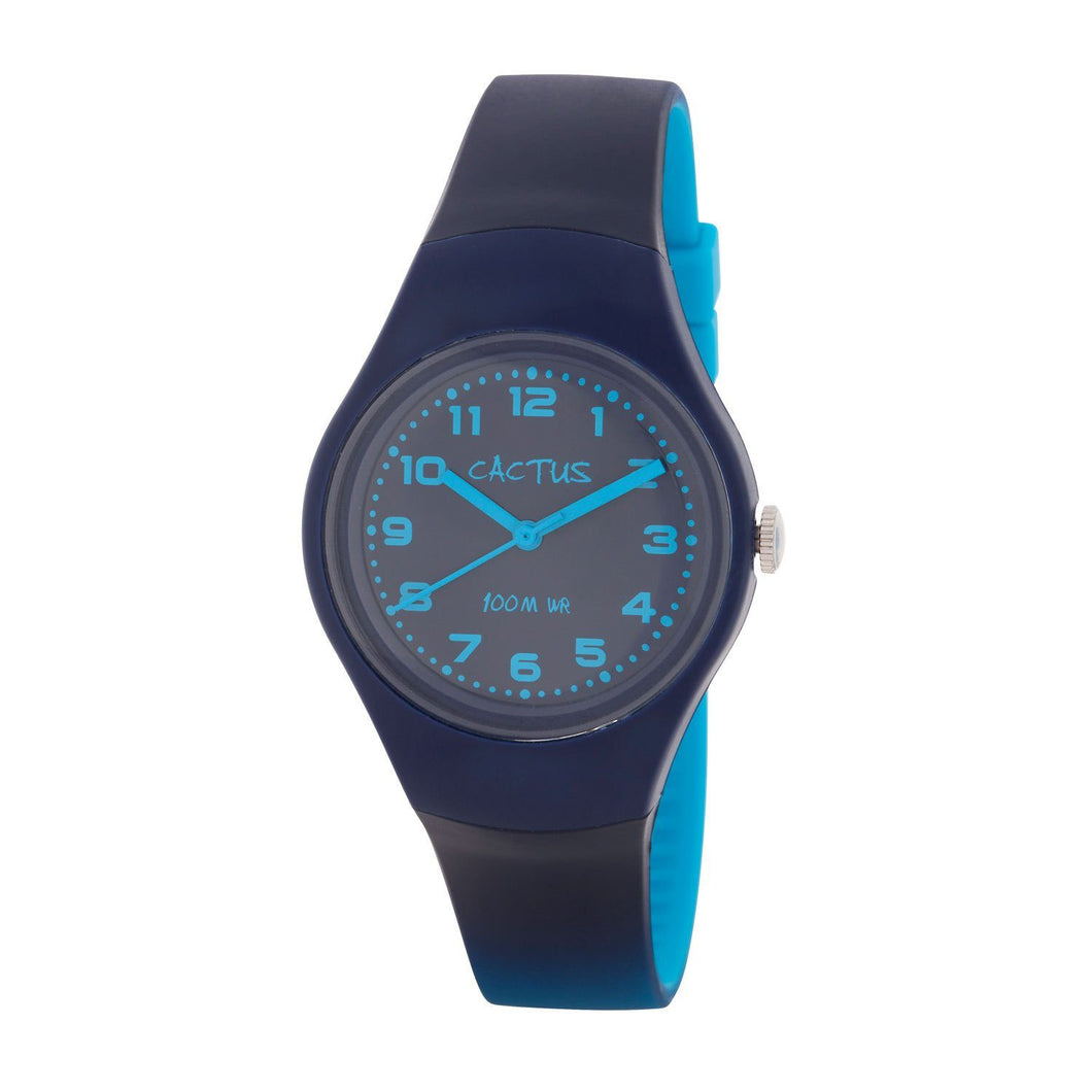 Ombre - Blue/Aqua Popular Watch with Ombre Shaded Band
