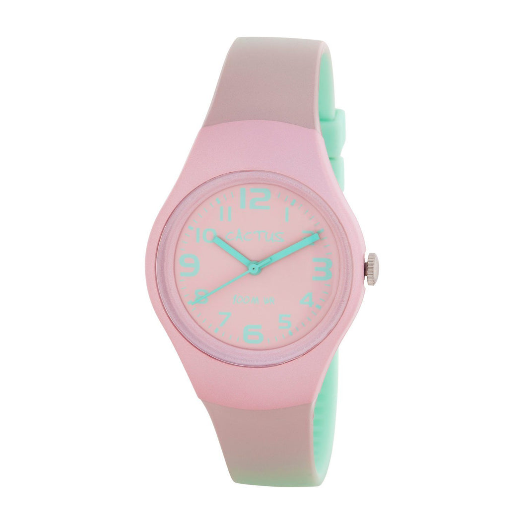 Ombre - Pink / Mint Popular Watch with Ombre Shaded band