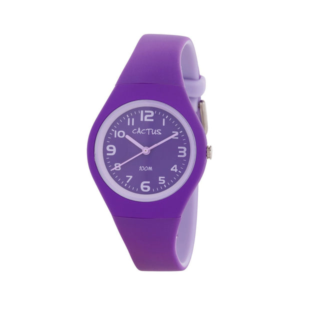 Summertime - Kids Waterproof Watch - Purple Watches shop cactus watches