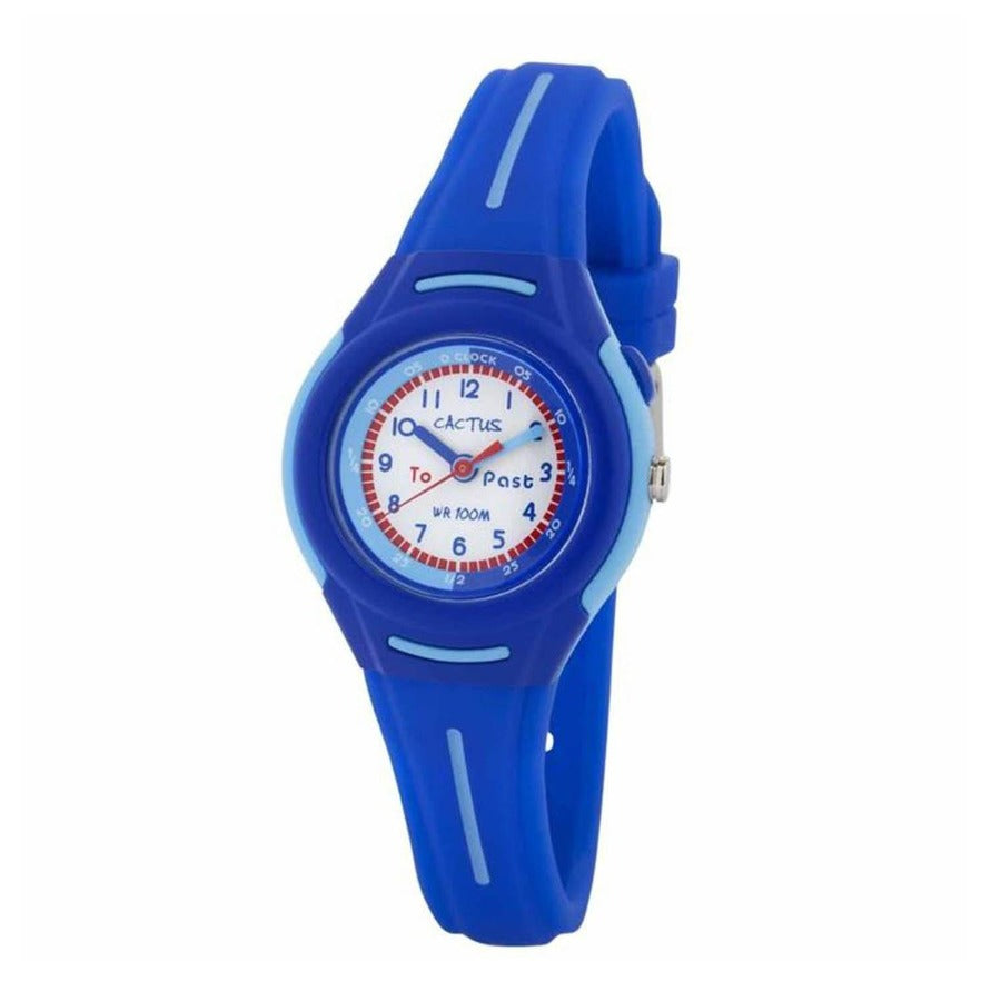 Petite - Time Teacher Watch for Kids - Blue