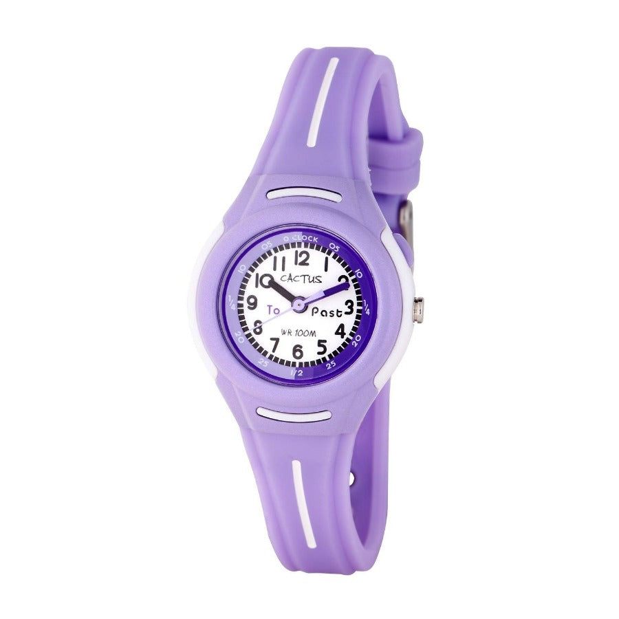 Petite - Time Teacher Kids - Purple Watches shop cactus watches