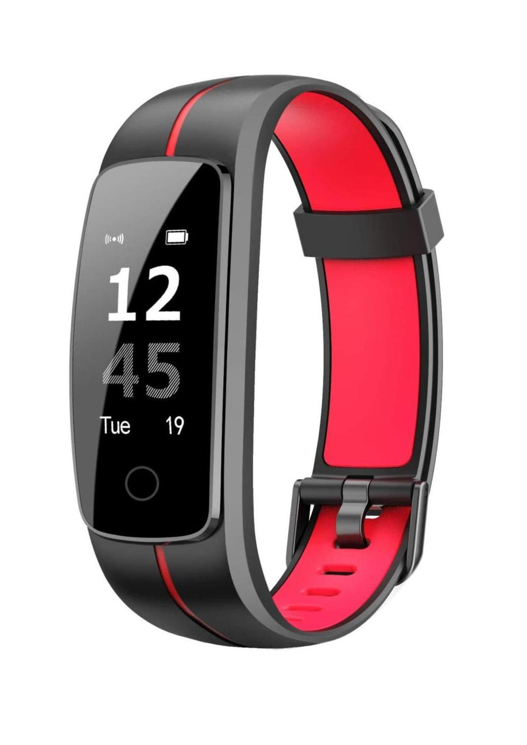 Stride - High Tech Activity Tracker for Kids - Black / Red Smart Watch shop cactus watches