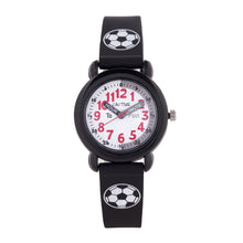 Timekeeper - Kids Watch - Black / Soccer ball Watches shop cactus watches