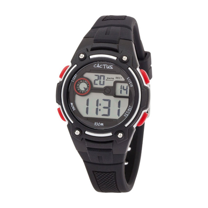 Rambler - Digital Kids LCD Watch - Black Watches shop cactus watches