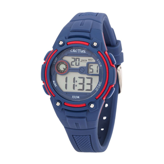 Rambler - Digital Kids LCD Watch - Navy Blue Watches shop cactus watches