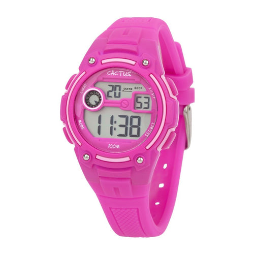 Rambler - Digital Kids LCD Watch - Hot Pink