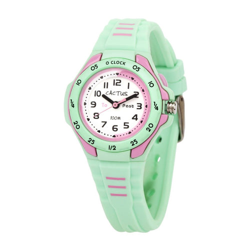 Mentor - Time Teacher Watch for Kids - Mint Green