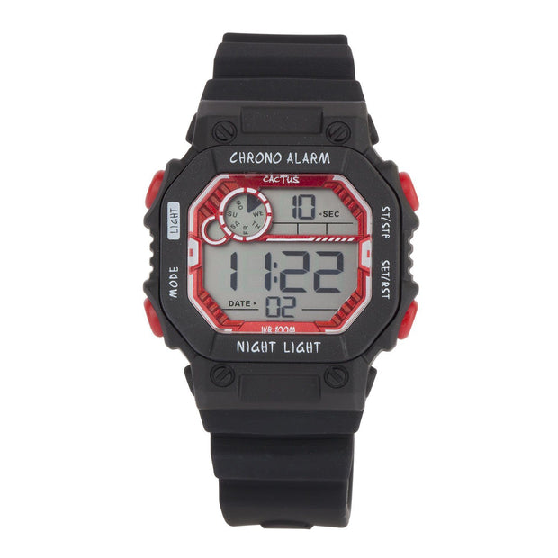 Fiesta - Digital Kids Watch - Black Watches shop cactus watches