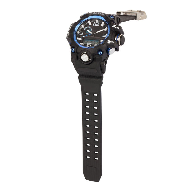 Mighty - Kids AnaDigi Boys Watch - Black/Blue Watches shop cactus watches
