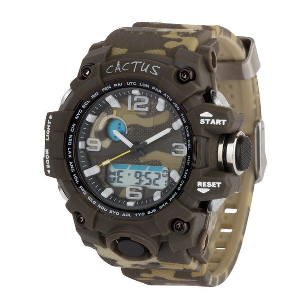 Mighty - Kids AnaDigi Boys Watch - Camouflage Watches shop cactus watches