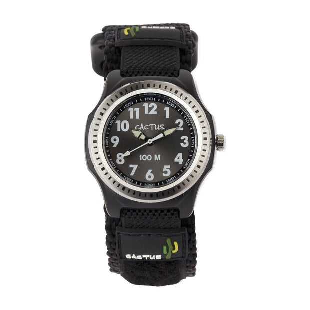 Rugged Ranger - Tough Boys' Kids Watch - Black Watches shop cactus watches