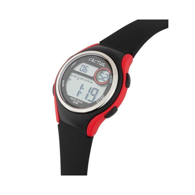 Coast - Digital Watch for Kids, Girls, Boys - Black/Red Watches shop cactus watches