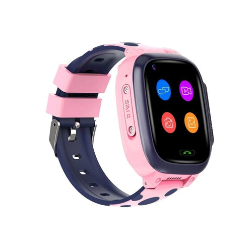 Kidocall - 4G Smartwatch, Phone & GPS Tracking for Kids - Pink Smart Watch shop cactus watches