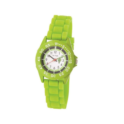 Beach Bright - Sports Kids Youth Watch - Lime Green Watches shop cactus watches