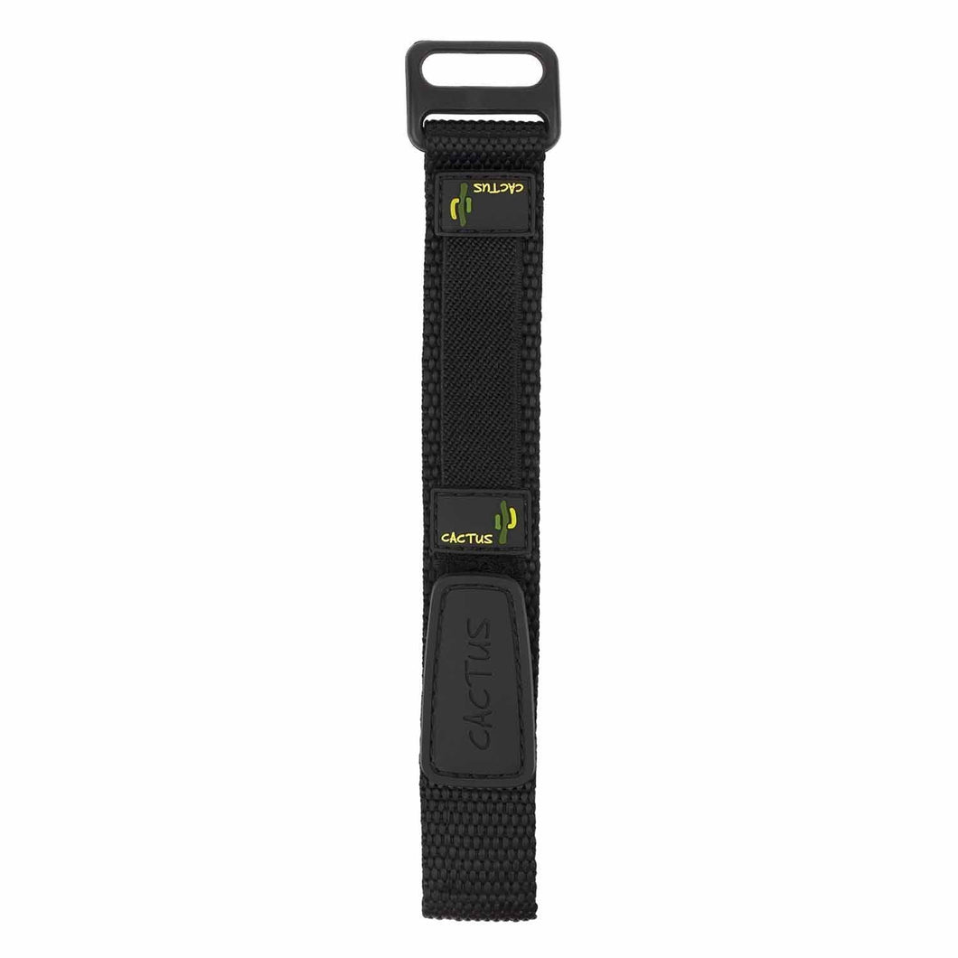Rugged Ranger Band - Black velcro band & yellow trim for CAC-45-M10 Bands Cactus Watches