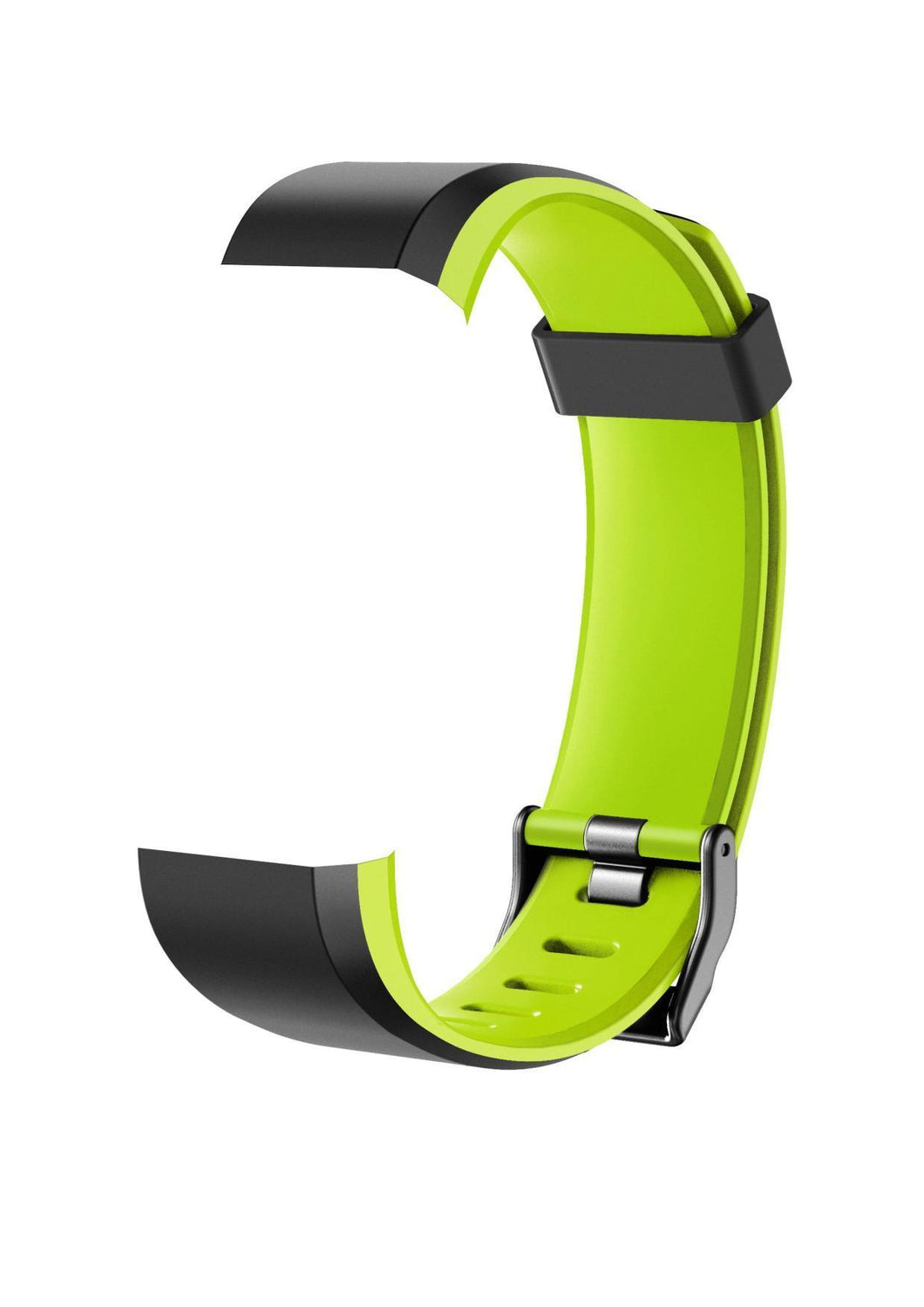 X2 GO - Smartwatch Band Strap - Black / Green band for CAC-102-M12 Bands Cactus Watches