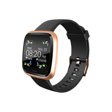 The Quad Black & Rose Gold Everyday Smartwatch Smart Watch shop cactus watches