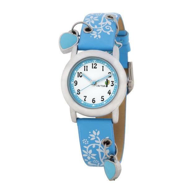 Charming - Beautiful Kids Charm Watch -blue Watches shop cactus watches