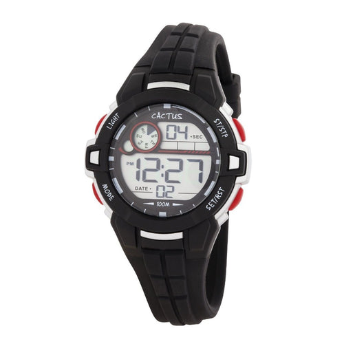 Dive - LCD Kids Digital Watch - Black Watches shop cactus watches