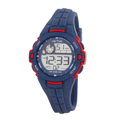 Watches - Dive - LCD Kids Digital Watch - Blue
