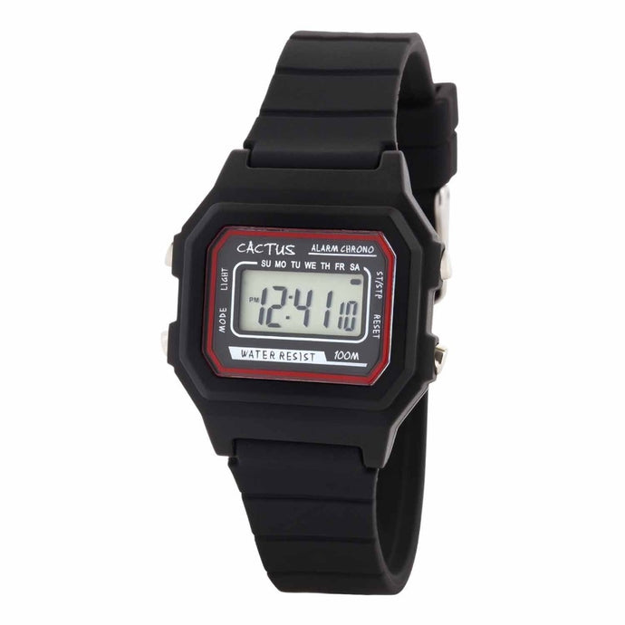 Dynamo - Digital Kids Watch - Black Watches shop cactus watches