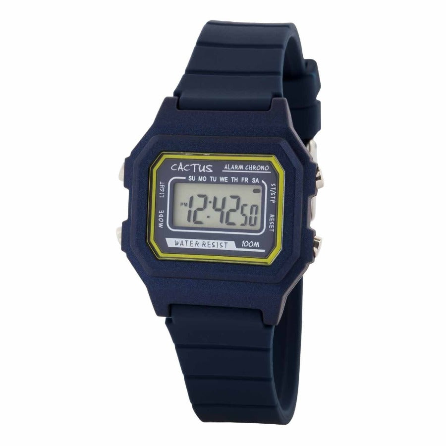 Dynamo - Digital Kids Watch - Blue Watches shop cactus watches