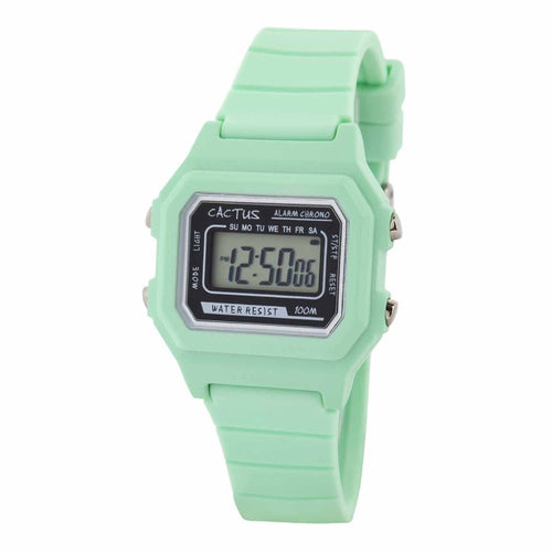Dynamo - Digital Kids Watch - Mint Green Watches shop cactus watches