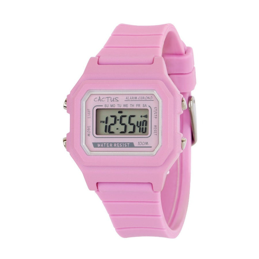 Dynamo - Digital Kids Watch - Pink Watches shop cactus watches