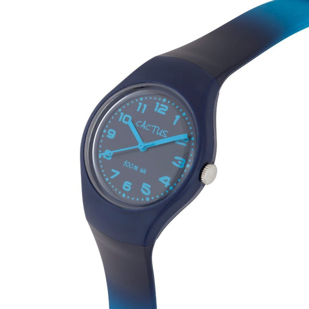 Ombre - Blue/Aqua Popular Watch with Ombre Shaded Band Watches shop cactus watches