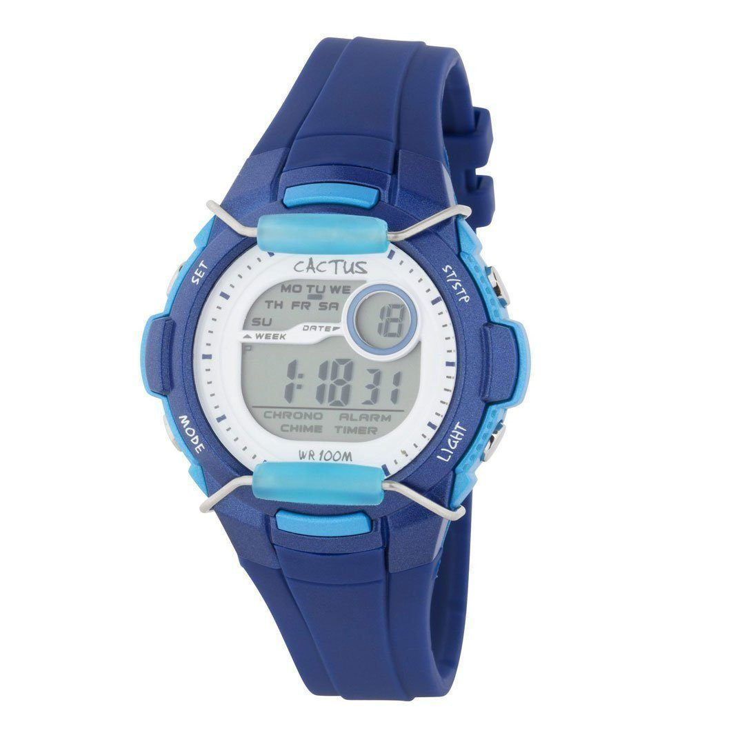 Shield - Kids Digital LCD Watch - Blue Watches shop cactus watches