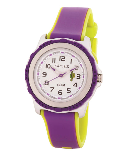Summer Splash - 100m Water-Resistant Kids Watch Watches shop cactus watches