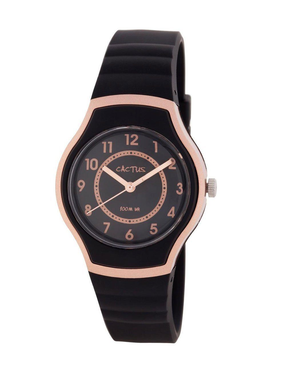 Sunset - Gorgeous Adorable Watch Kids Tweens Teens Waterproof - Rose Gold / Black Watches shop cactus watches