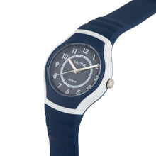 Watches - Sunset - Kids, Tweens, Teens Waterproof Watch - Navy Blue/White