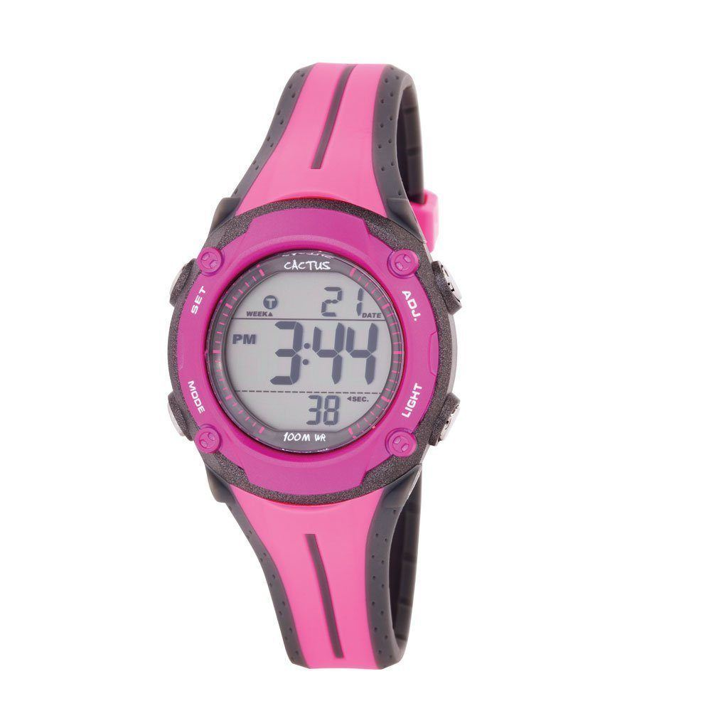 Watches - Surf Tech - Pink Digital Waterproof Kids Watch